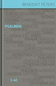 Kommentar zu den Psalmen 1 - 41