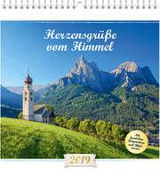 Herzensgrüße vom Himmel 2019 - Wandkalender