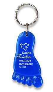 """Jahreslosung 2019 - Schlüsselanhänger """"Fuß"""""""