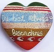 Handschmeichler-Herz: Du bist etwas Besonderes