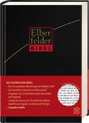 Elberfelder Bibel in großer Schrift, Leder