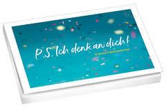 P.S. Ich denk an dich! - Postkartenset