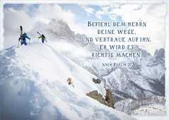 """Postkartenserie """"Befiehl dem Herrn"""" - 12 Stück"""