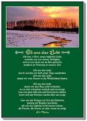 Postkarten: Gib uns das Licht, 12 Stück