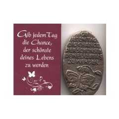 "Symbol ""Gib jedem Tag die Chance..."" - Bronze"