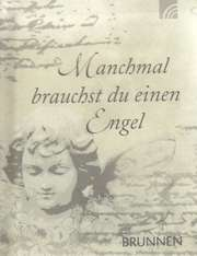 Manchmal brauchst du einen Engel - Miniaturbuch