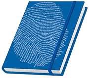 Fingerabdruck. Schreibbuch