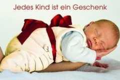 Jedes Kind ist ein Geschenk - Faltkarte