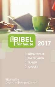 Bibel für heute 2017 - Buchausgabe