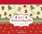 24 + 2 Weihnachtsgrüße - Aufstellbuch