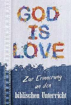 Faltkarte: God is Love - Biblischer Unterricht
